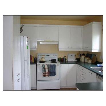 Restauration d 39 armoires de cuisine yvon dumont la prairie qc 450 635 5098 - Modifier armoire melamine ...