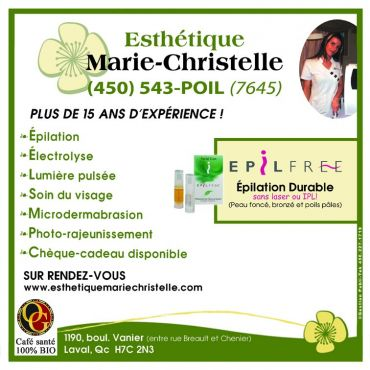 esth tique marie christelle laval qc 450 543 7645. Black Bedroom Furniture Sets. Home Design Ideas